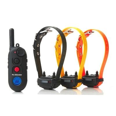 PE-903 3-Dog Pro Educator Advanced Remote Trainer